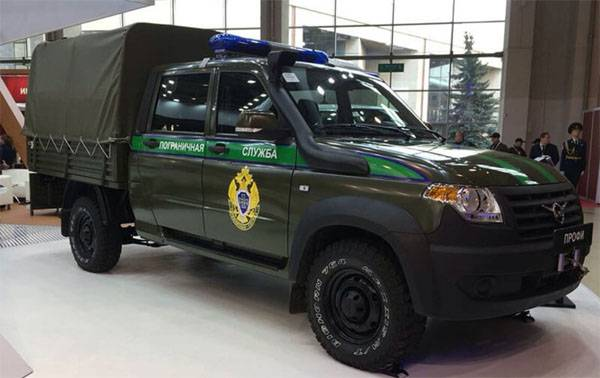 УАЗ представил новые модификации автомобилей для силовых структур
