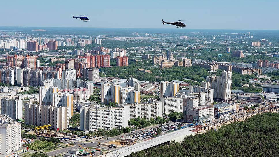 В Москве «выстраиваются» гетто