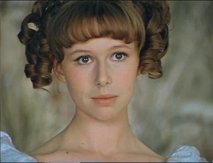 Евгения Симонова в роли принцессы, 1978