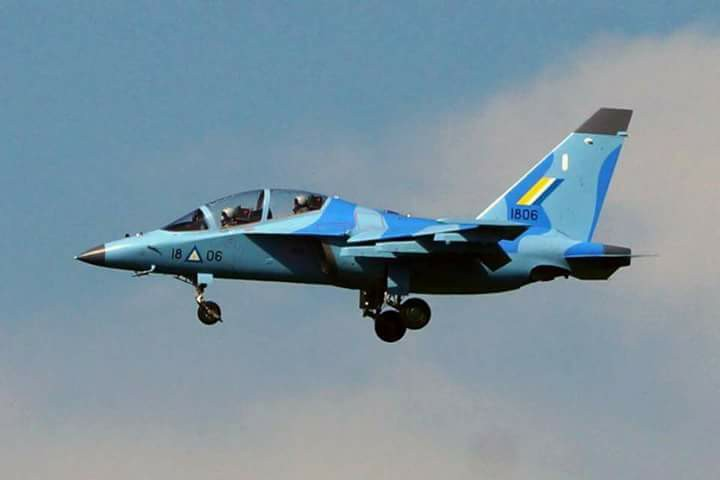 Новые Як-130 ВВС Мьянмы
