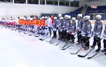В Москве стартовал детский хоккейный турнир
