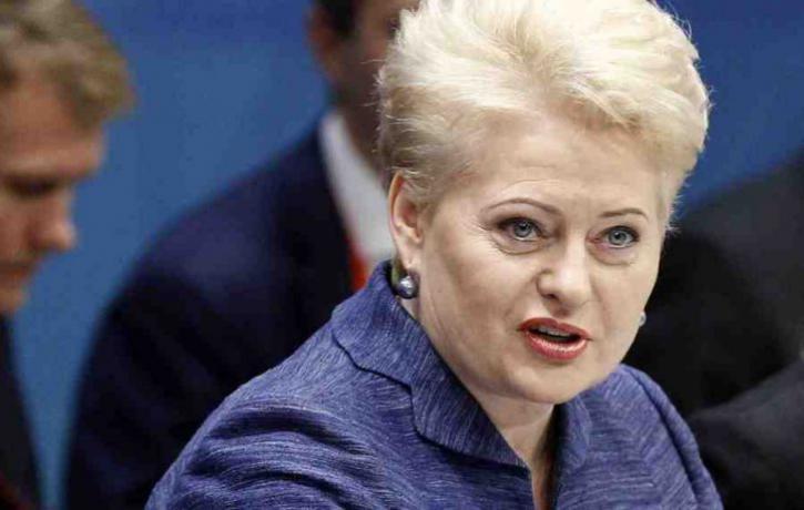 Грибаускайте внезапно ошпарила Киев по самому больному: Это страшнее, чем война в Донбассе