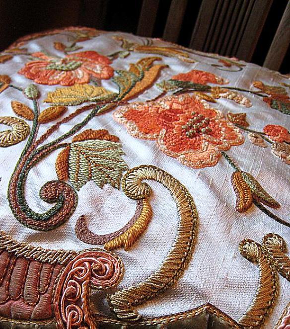 Красота, актуальная во все времена — люневильская вышивка