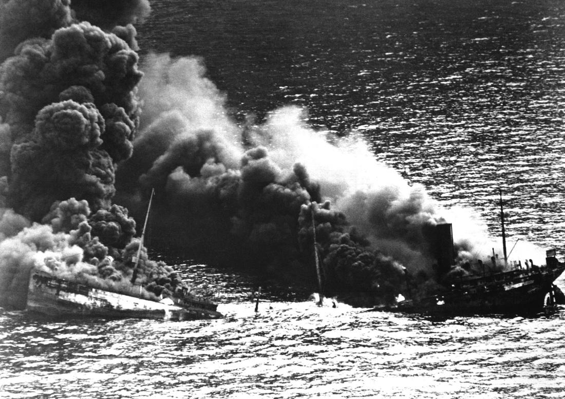 Как находчивый старшина подорвал немецкое судно