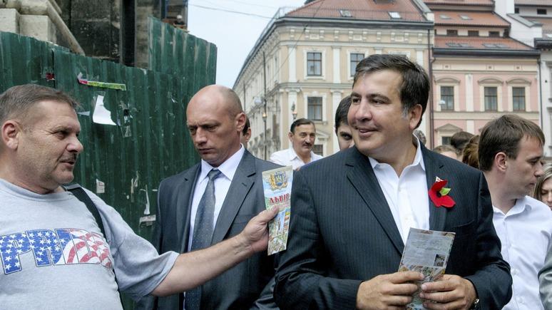 Саакашвили объявил о начале превращения Украины в сверхдержаву и попросил денег