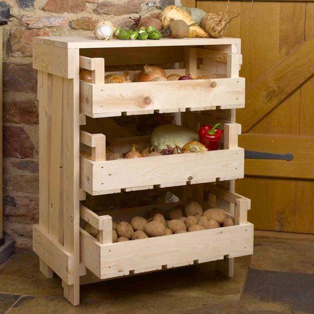 Ящики для овощей своими руками