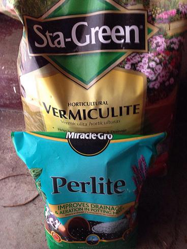 Перлит и вермикулит