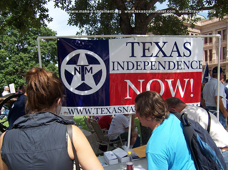 """TEXAS will be free ... """"Because of Kosovo"""" ... """"Because ... Crimea"""" ... Russian counterattack ... !!!"""