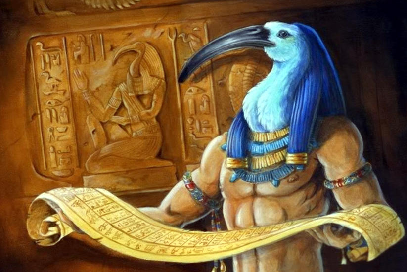 Мощный магический артефакт: Египетская книга Тота