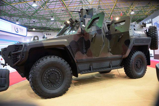 Международная выставка вооружения Gulf Defense & Aerospace 2017