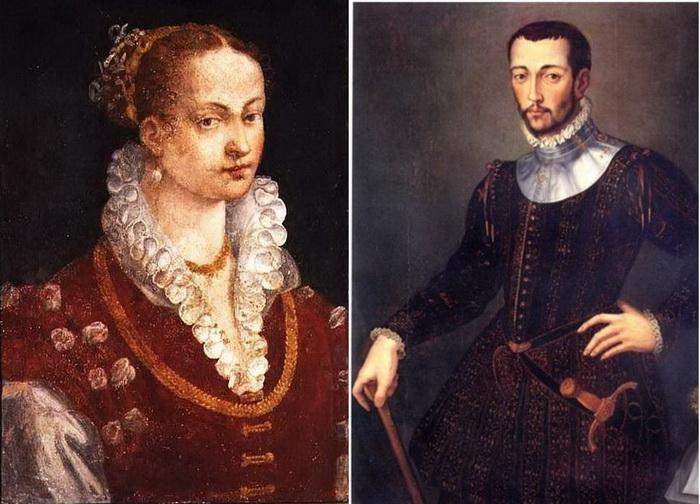 Бьянка Капелло и Франческо Медичи