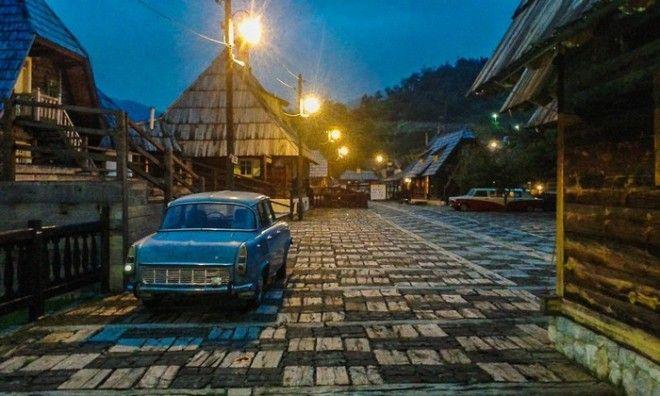 Город Дрвенград в Сербии