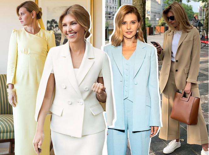 Леди Зеленская: как одевается супруга президента Украины