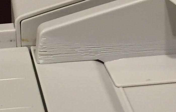 Бумага пластика человек