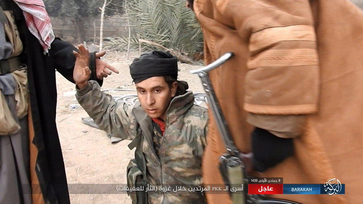 Активность ИГИЛ в Восточной Сирии