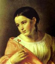 Бедная Лиза - картина художника О. Кипренского