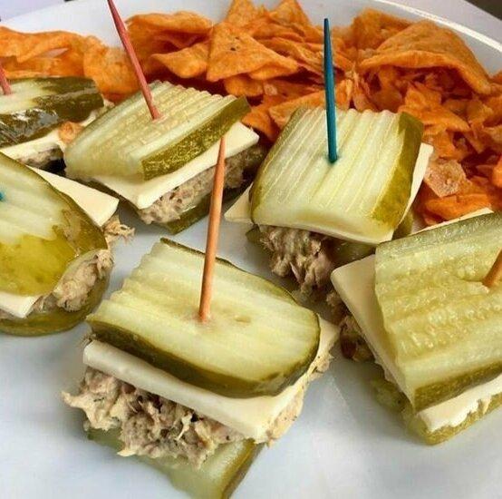 5. Огурец, сыр и паштет Закуски, быстро и вкусно, еда, красиво, рецепты, снэк, фото