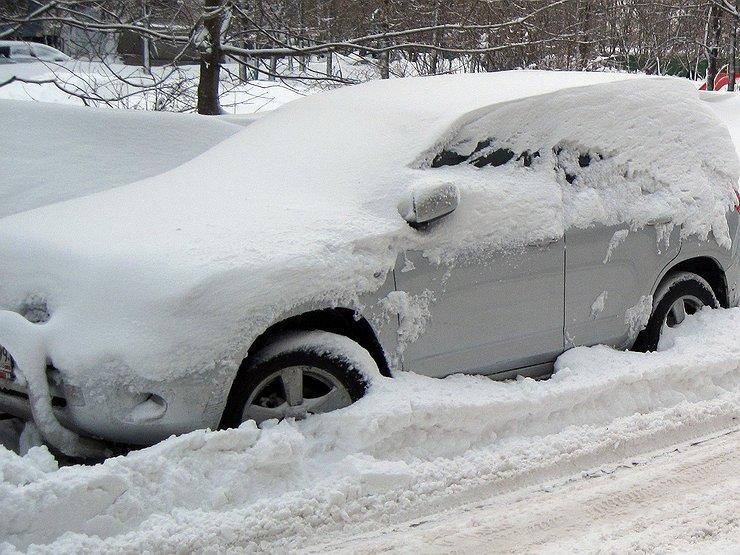 Как не нужно ездить в городе зимой