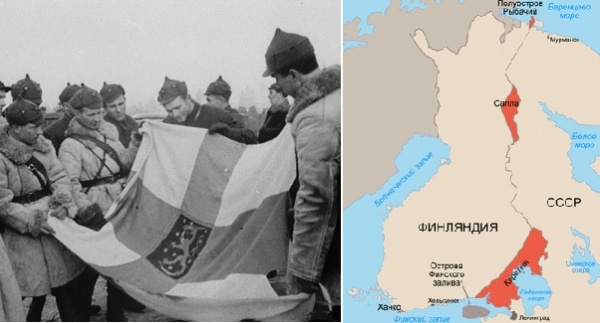 Этот день вистории: 1940 год— советско-финский мирный договор