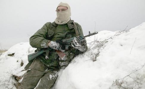Будни украинского солдата