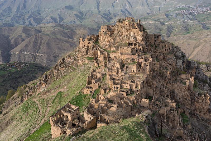 Гамсутль — заброшенный аул в Дагестане