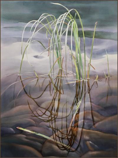 акварель пейзажи David McEown - 09