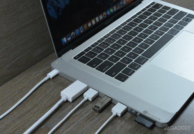 Переходник cPro добавит портов новому MacBook Pro