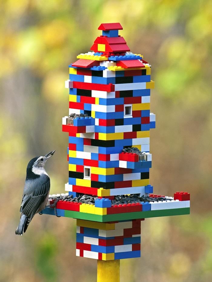 Внуки выросли, конструктор остался. Несколько отличных идей использования Лего