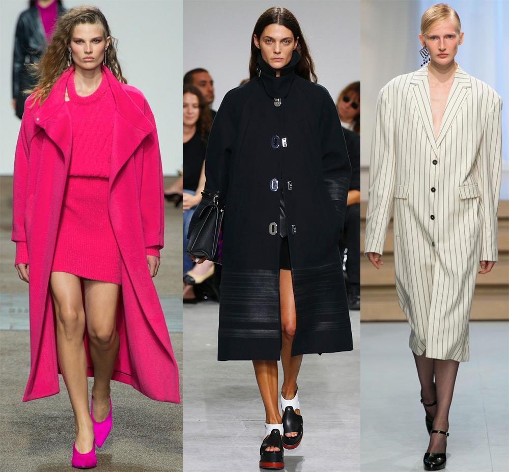 Подборка актуальных моделей демисезонных пальто 2017