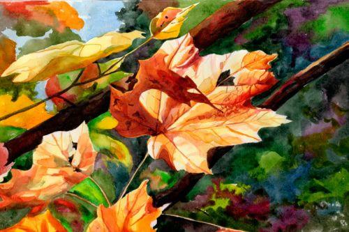 Осенние зарисовки. Ирина Белявская