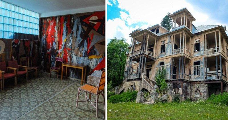 Заброшенный курорт для кремлевской элиты в «грузинской Швейцарии»: взгляд изнутри