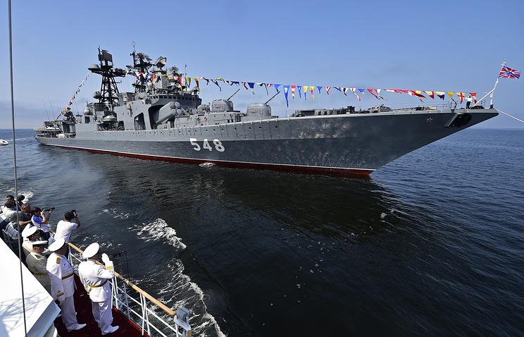 День Военно-морского флота России отметят от Балтики до Тихого океана