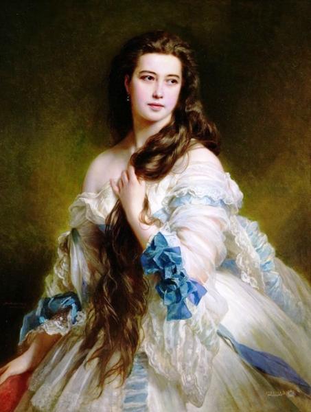 Маэстро двух корон - один из лучших портретистов своего времени Франц Ксавер Винтерхальтер