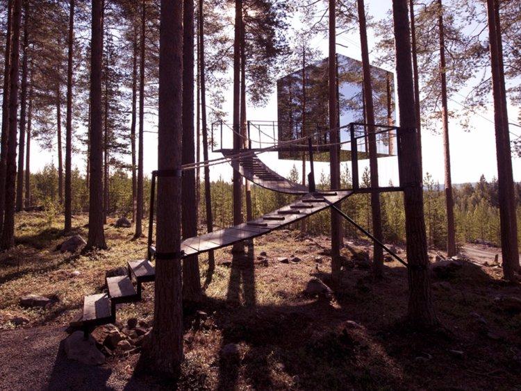 35 домиков на дереве, в которых хочется жить