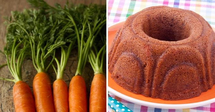 Инструкция по приготовлению морковного пирога в форме для кексов