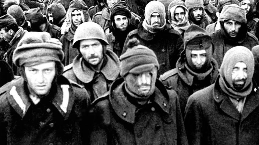 Что случилось с фашистами, плененными под Сталинградом