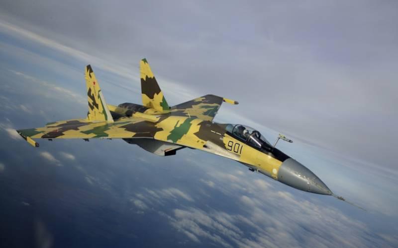Су-35 получили новую оптико-локационную систему