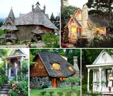15 сказочных домиков со всех уголков Света