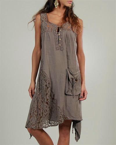 Длинное модное платье своими руками