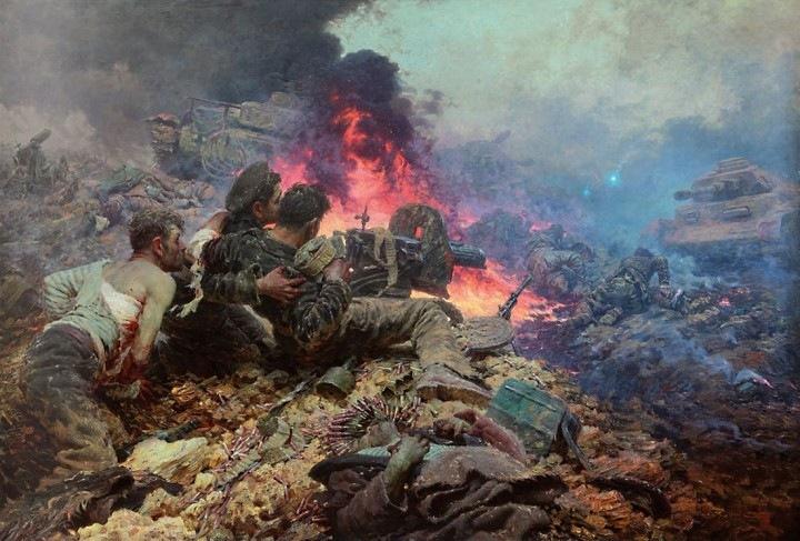 «Черная смерть»: как пять морпехов остановили бронированный кулак фашистов
