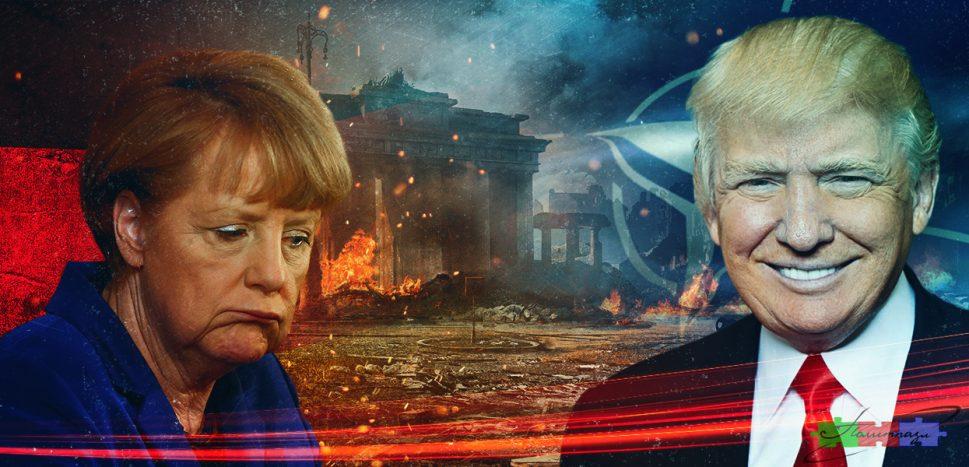Западный бордель: тебя поимели, ты и плати. США требует $375 млрд у Германии
