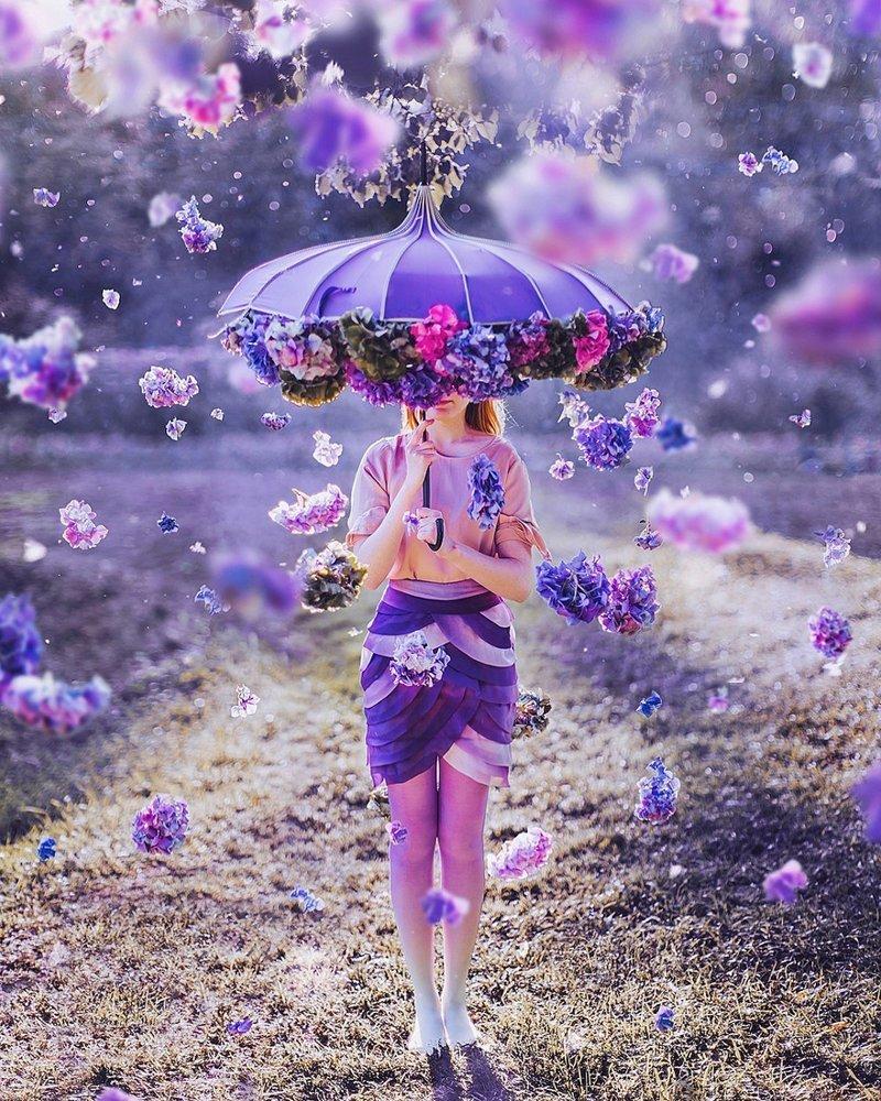 Фотограф Кристина Макеева и её работы по теме  девушек в красивых платьях на фоне великолепных пейзажей