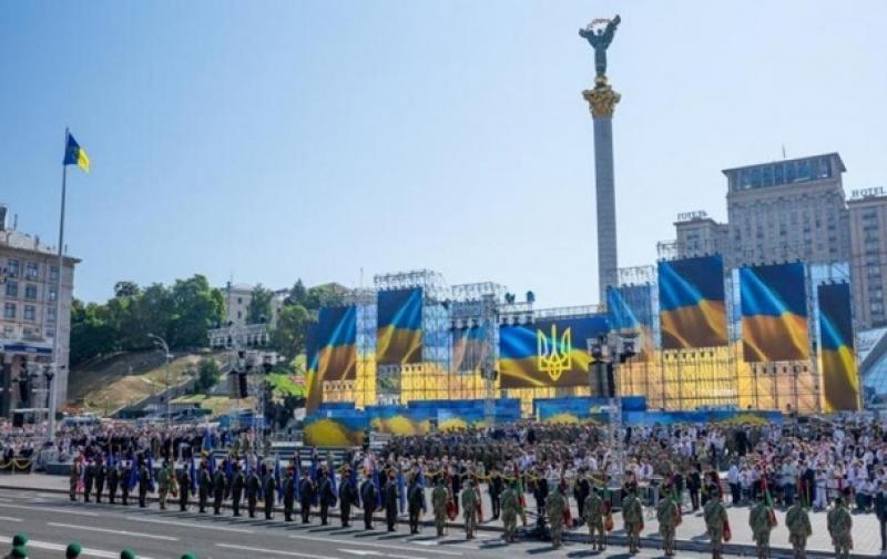 """В параде ко """"дню независимости"""" Украины примут участие  военные из 9 стран НАТО"""
