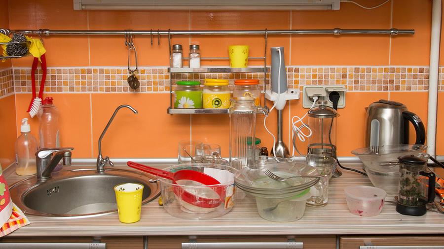 Скрытая грязь на кухне