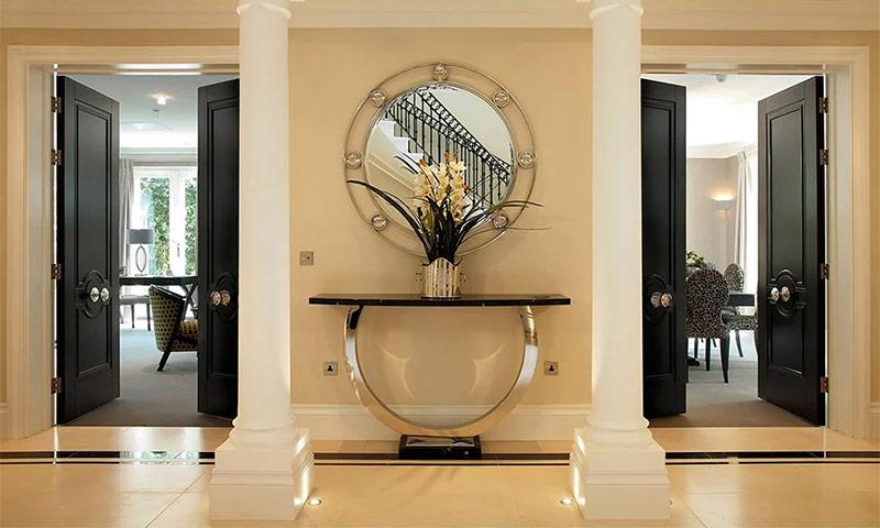Межкомнатные двери в интерьере различных помещений