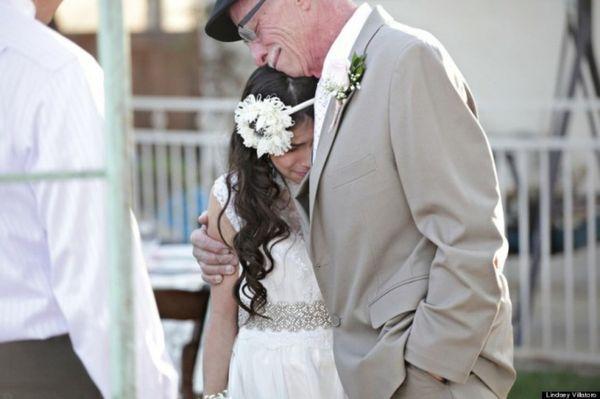 «Объявляю вас отцом и дочерью!»