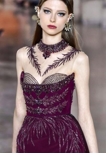 Georges Hobeika Haute Couture  2017-2018 — шикарное великолепие на подиуме