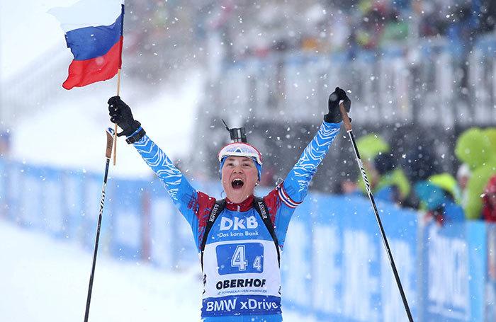 «Как в самые лучшие времена». Российские биатлонисты впервые за 13 лет сделали золотой дубль