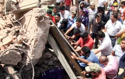 Несколько тысяч зданий могут рухнуть в Мехико после землетрясения