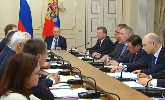 Совещание с членами Правительства (видео)